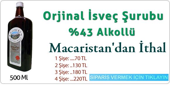 İsveç Şurubu Alkollü Macar